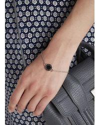 Marc By Marc Jacobs | Metallic Silver Tone Enamel Bracelet | Lyst