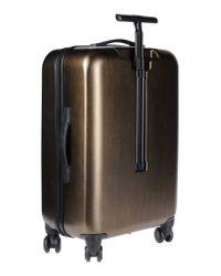 Calvin Klein | Metallic Wheeled Luggage | Lyst