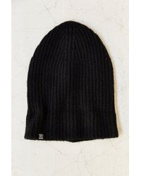 Lyst - Herschel Supply Co. Cashmere Beanie in Black for Men 8956e68abbd8