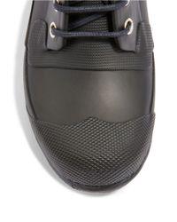 Hunter | Black Original Rubber Ankle Boots for Men | Lyst
