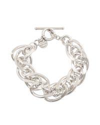 Philippe Audibert | Metallic Chain Links Bracelet | Lyst