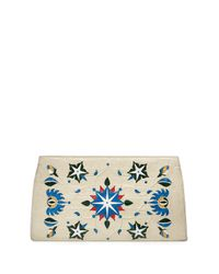 Nancy Gonzalez - Natural Laser-cut Taj Mahal Crocodile Clutch Bag - Lyst