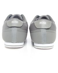 BOSS Green | Gray Light Air Trainers for Men | Lyst