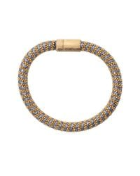 Carolina Bucci | Blue Denim Sparkle Twister Band Bracelet | Lyst