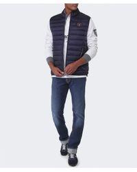 Napapijri | Blue Aerons Padded Gilet for Men | Lyst