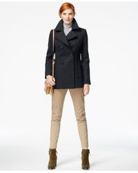 Tommy Hilfiger | Blue Classic Peacoat | Lyst