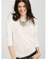 BaubleBar - Metallic Aquanura Collar-gray - Lyst
