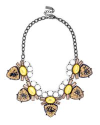 BaubleBar | Metallic Stardust Crown Vic Collar | Lyst