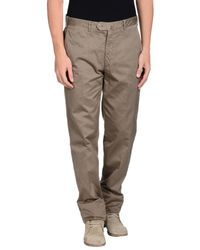 Valentini - Natural Casual Trouser for Men - Lyst