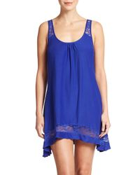In Bloom | Blue Crossback Chemise | Lyst