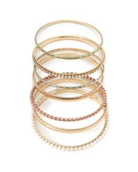 Forever 21 | Multicolor Opulent Bangle Set | Lyst