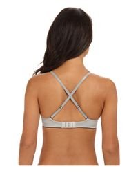 Kensie - Gray Its All About Me Tshirt Bra - Lyst