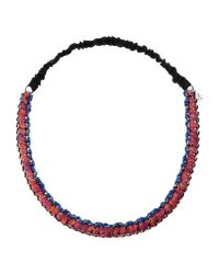 M Missoni - Red Necklace - Lyst