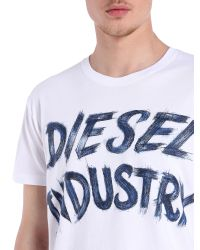 DIESEL | White T-aethalas for Men | Lyst