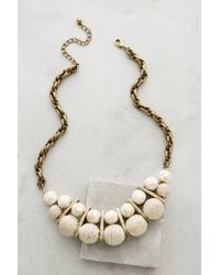 Anthropologie - Natural Palois Bib Necklace - Lyst
