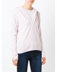 Unconditional - Pink Hooded Sweater - Lyst