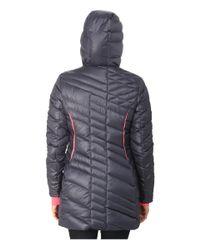 Spyder - Pink Timeless Long Down Jacket - Lyst