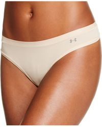 Under Armour | Natural Pure Stretch Briefs | Lyst