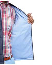 Brooks Brothers - Blue Quilted Vest for Men - Lyst
