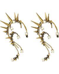 Erickson Beamon | Metallic Grapes Of Wrath Spiked Ear Cuff | Lyst
