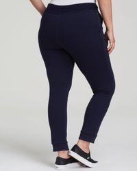Pink Pony - Blue Lauren Plus Drawstring Knit Pants - Lyst