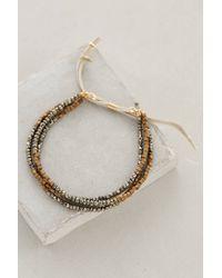 Shashi | Metallic Blaire Slide Bracelet | Lyst