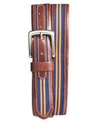 Jack Mason Brand | Brown 'tailgate - Virginia Cavaliers' Belt | Lyst