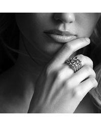 David Yurman - Metallic Confetti Ring With Diamonds And Gold - Lyst