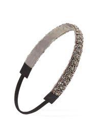 Forever 21 | Gray Beaded Sequin Headband | Lyst