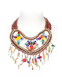 Sveva Collection | Multicolor Io Sto Bene Necklace | Lyst