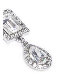 Philippe Audibert | Metallic 'elea' Crystal Drop Earrings | Lyst