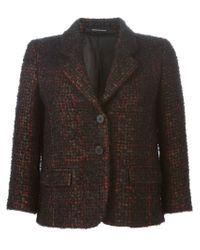 Tagliatore - Black Ardesia Wool and Cotton-Blend Blazer  - Lyst
