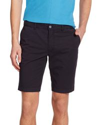 J.Lindeberg - Blue Slim-Fit Shorts for Men - Lyst