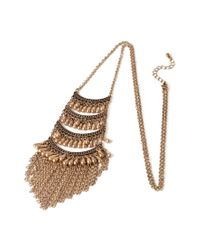 Forever 21 - Metallic -inspired Tiered Necklace - Lyst
