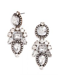 BaubleBar | White Aztec Drops-clear-post_back | Lyst