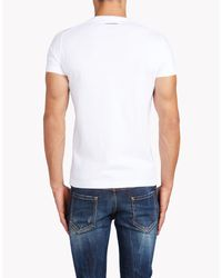DSquared² | White Sexy Slim Fit T-shirt for Men | Lyst