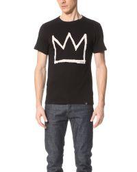 ELEVEN PARIS | Black Basquiat 2 Mx Tee for Men | Lyst