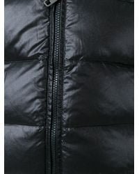 Dolce & Gabbana - Black 'recco Technology' Padded Jacket for Men - Lyst