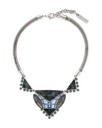 Vince Camuto | Metallic 'beach Comber' Frontal Necklace | Lyst