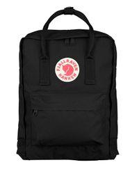 Fjallraven - Black 16L Kanken Nylon Backpack - Lyst