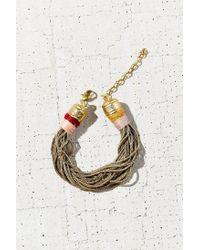 Urban Outfitters | Metallic Summer Snake Chain Bracelet | Lyst