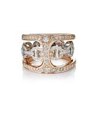Hoorsenbuhs | Metallic Phantom Clique Ring | Lyst