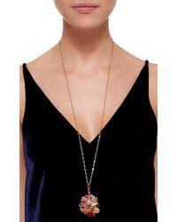 Sharon Khazzam - Multicolor Gold, Mixed Stone, And Diamond Baby Locket - Lyst