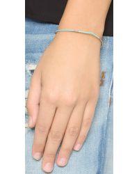 Shashi - Blue Mary Bracelet - Cobalt - Lyst