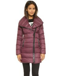 Mackage | Purple Yara Lightweight Down Jacket | Lyst