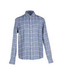 Salvatore Piccolo - Blue Shirt for Men - Lyst