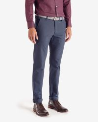 Ted Baker | Blue Edetro Micro Textured Suit Trousers for Men | Lyst
