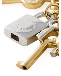 Marc By Marc Jacobs - Metallic Lock And Key Necklace - Lyst