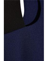 Prabal Gurung - Blue Pleated Crepe Dress - Lyst
