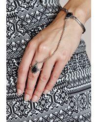 Missguided - Western Handchain Black/Silver - Lyst